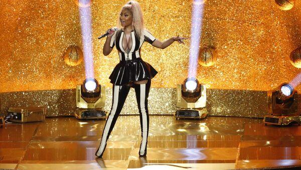Zpěvačka Nicki Minaj na udělování cen MTV Video Music Awards v roce 2017 - Sputnik Česká republika