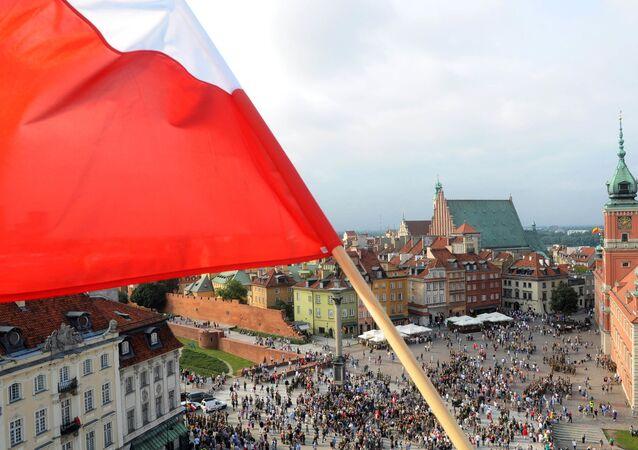 Pohled na Varšavu
