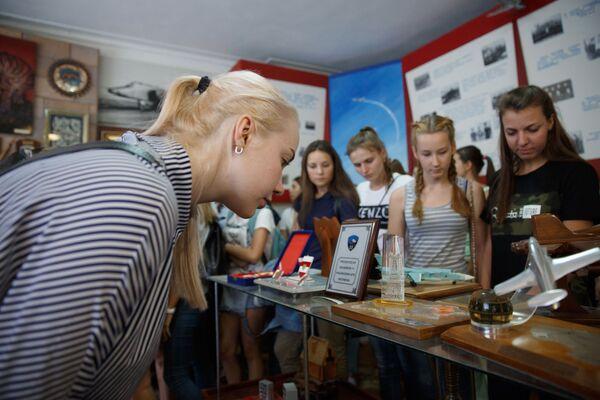 Překrásné letkyně: první nábor do Krasnodarského leteckého učiliště - Sputnik Česká republika