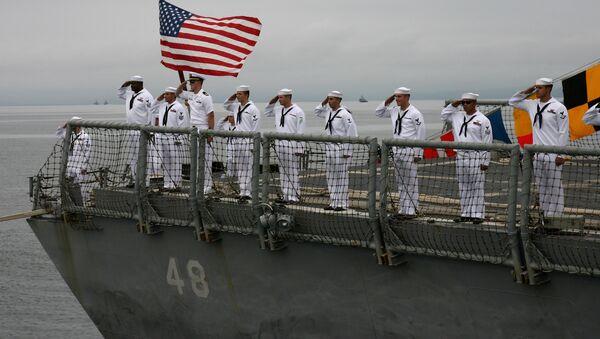 Američtí námořníci. Ilustrační foto - Sputnik Česká republika