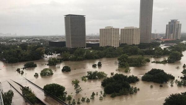 Povodeň v Houstonu - Sputnik Česká republika