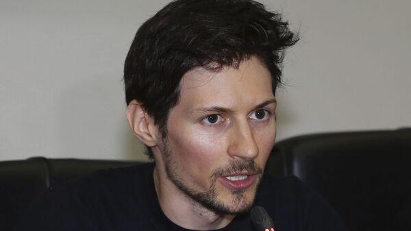 Создатель мессенджера Telegram Павел Дуров  - Sputnik Česká republika