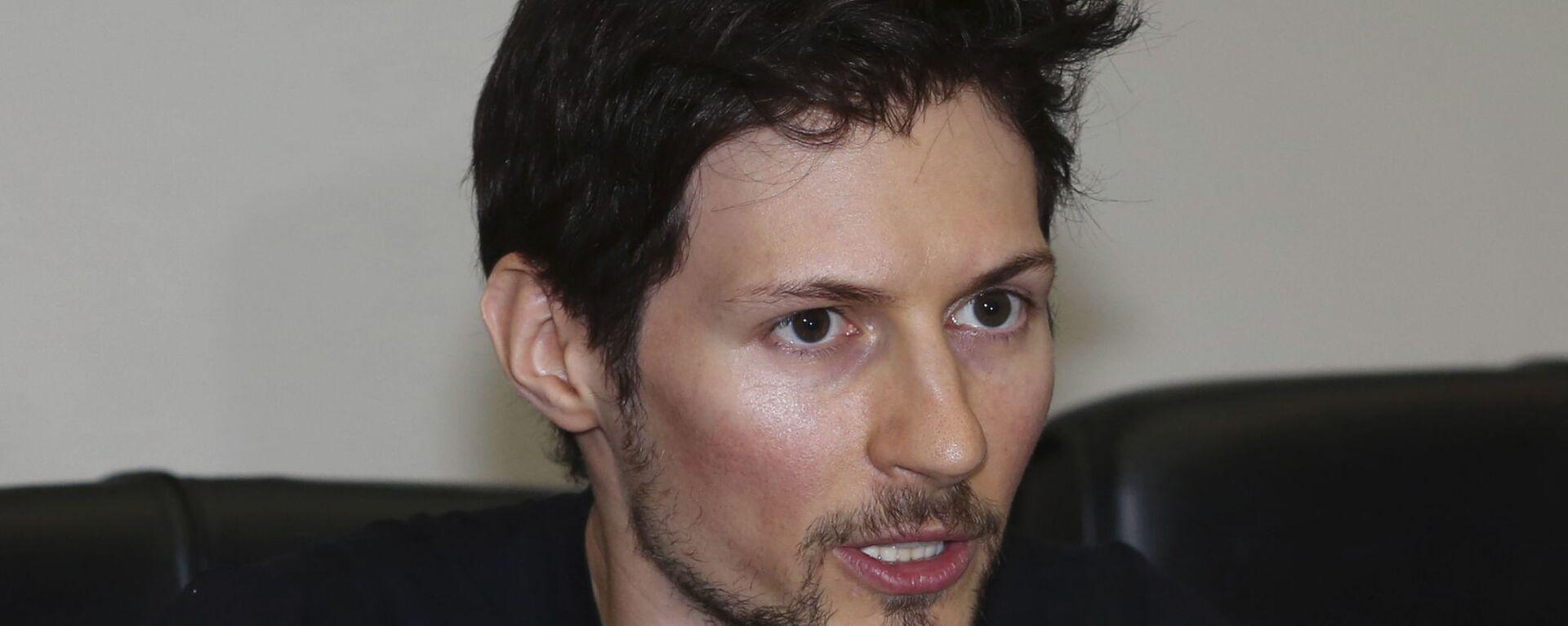 Pavel Durov - Sputnik Česká republika, 1920, 22.05.2021