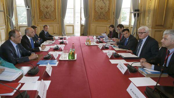 Jednání normandské čtyřky v Paříži - Sputnik Česká republika
