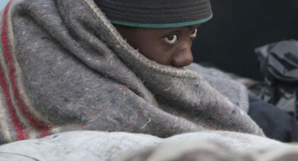 Migrant z Afriky