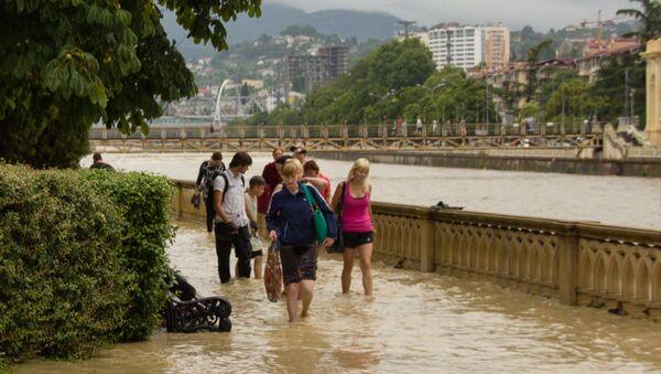 Záplavy v Soči - Sputnik Česká republika