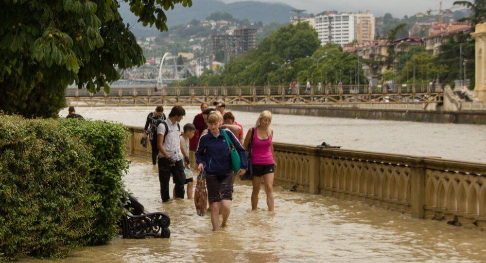 Záplavy v Soči