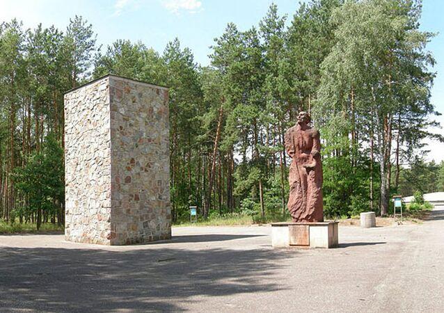 Pamětní komplex Sobibor v Polsku