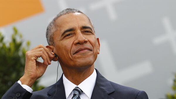 Bývalý americký prezident Barack Obama - Sputnik Česká republika