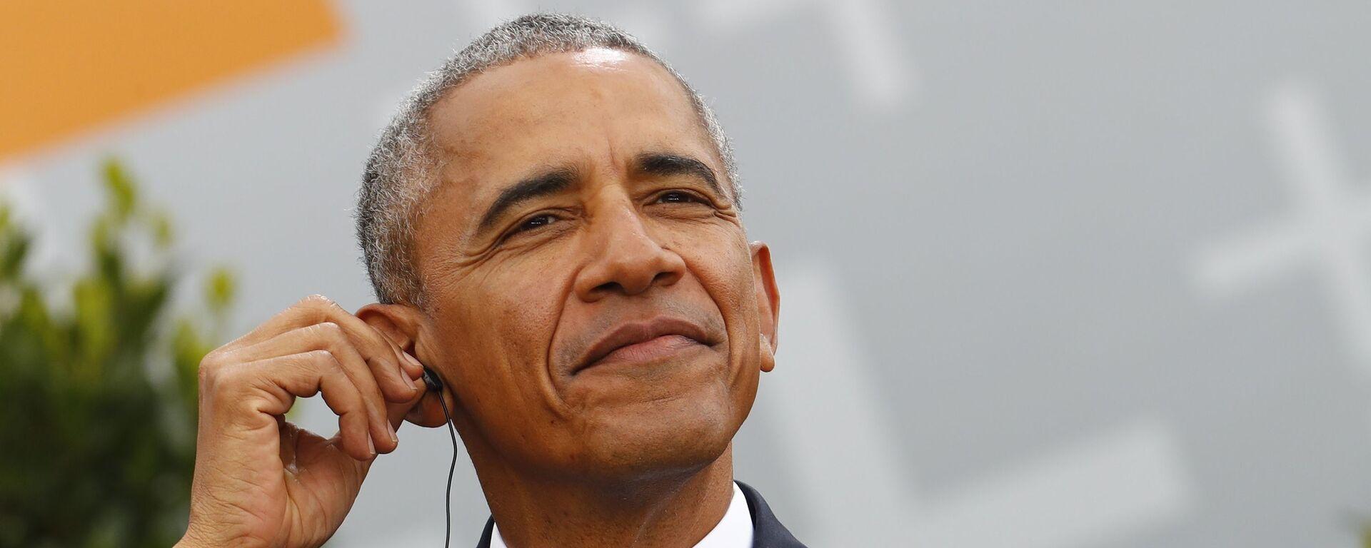 Bývalý americký prezident Barack Obama - Sputnik Česká republika, 1920, 16.12.2019