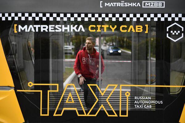 Smartbus Matrjoška: první ruský autonomní autobus - Sputnik Česká republika