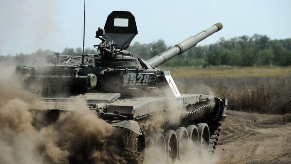 Tank T-72. Ilustrační foto - Sputnik Česká republika