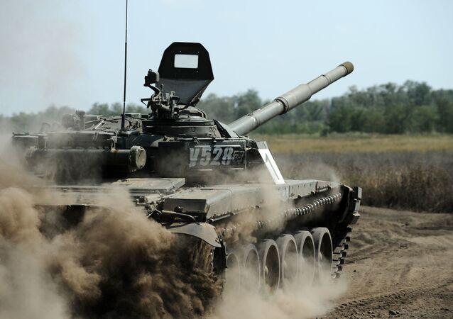 Tank T-72. Ilustrační foto