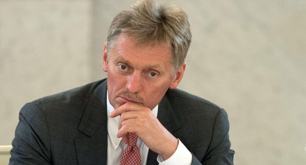 Tiskový mluvčí prezidenta Dmitrij Peskov