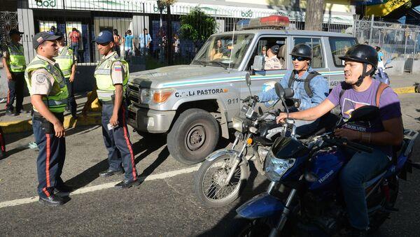 Caracas. Policie. Ilustrační foto - Sputnik Česká republika