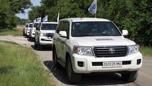 Mise OBSE - Sputnik Česká republika