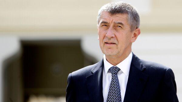 Bývalý ministr financí Andrej Babiš - Sputnik Česká republika