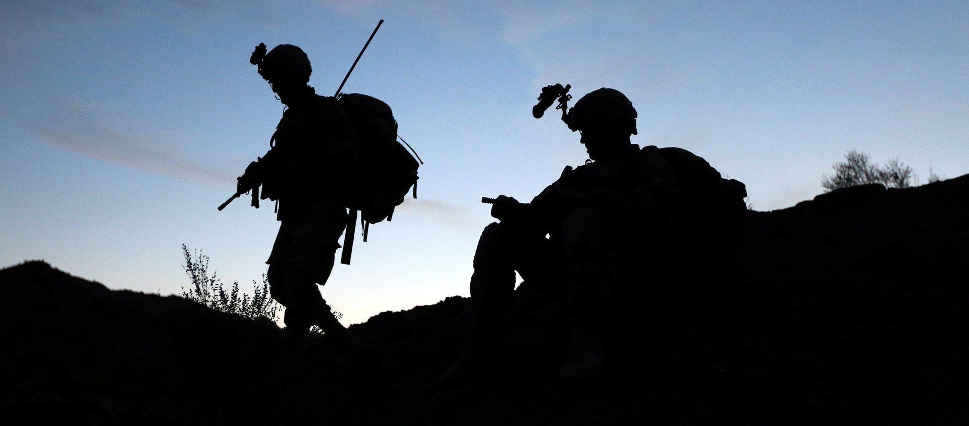 Američtí vojáci na afhgánsko-pákistánské hranici - Sputnik Česká republika, 1920, 10.04.2021