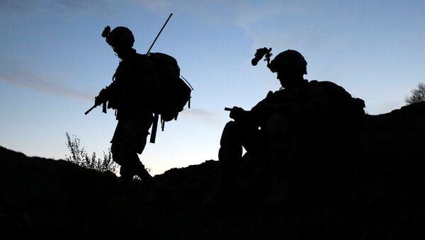 Američtí vojáci na afhgánsko-pákistánské hranici - Sputnik Česká republika