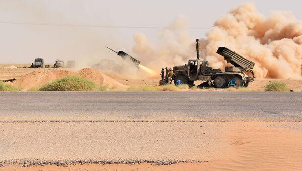 Syrští vojáci v okolí Dejr az-Zauru - Sputnik Česká republika