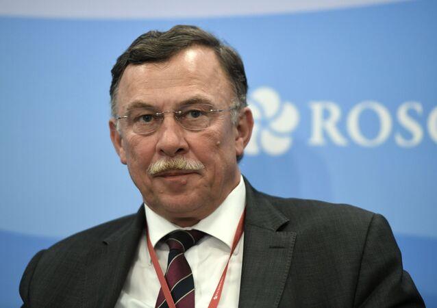 Vedoucí ruské pobočky Siemens Dietrich Moeller
