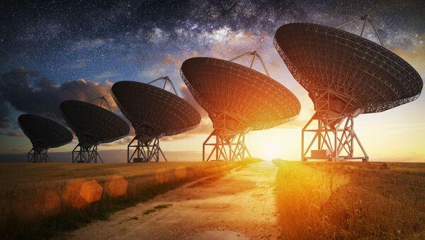 Radioteleskopy - Sputnik Česká republika