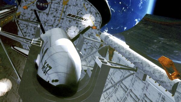 Bezpilotní letoun X-37 - Sputnik Česká republika
