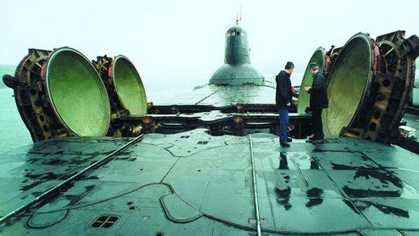 Atomová ponorka projektu 941 Akula - Sputnik Česká republika