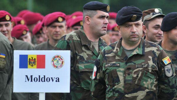Moldavští vojáci - Sputnik Česká republika