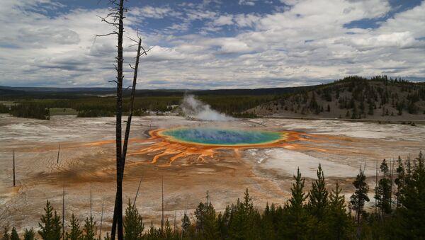 Yellowstonský národní park - Sputnik Česká republika