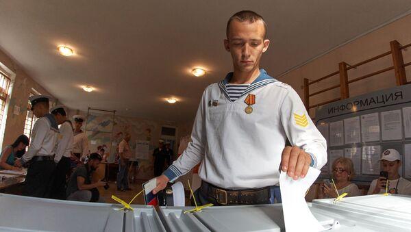 Volby v Sevastopolu - Sputnik Česká republika