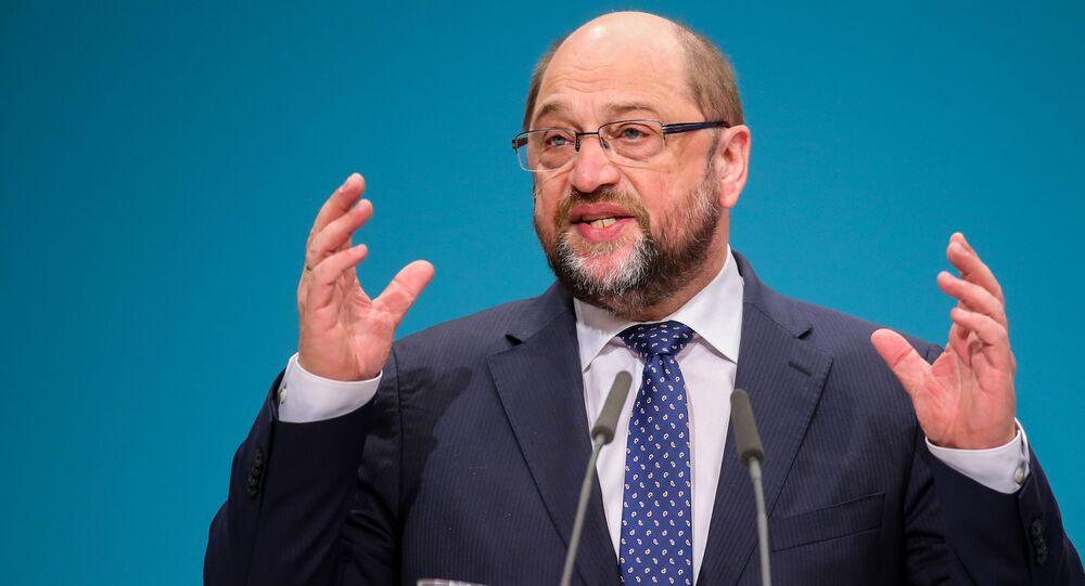Martin Schulz. Ilustrační foto