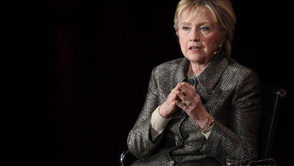 Bývalá kandidátka na prezidenta USA Hillary Clintonová - Sputnik Česká republika