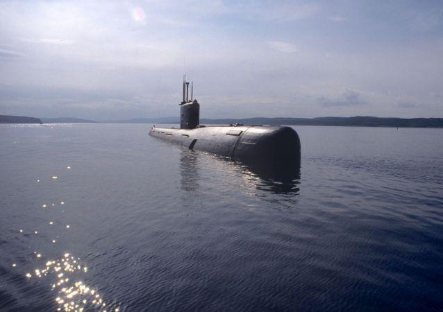 Ruská ponorka. Ilustrační foto