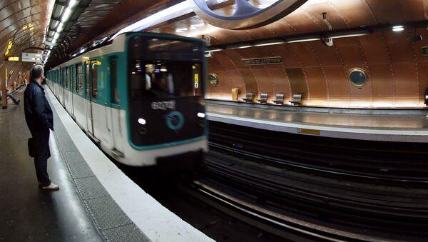 Pařížské metro - Sputnik Česká republika