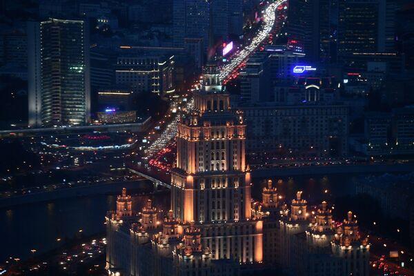 V Moskvě otevřou nejvyšší vyhlídkovou plošinu v Evropě - Sputnik Česká republika