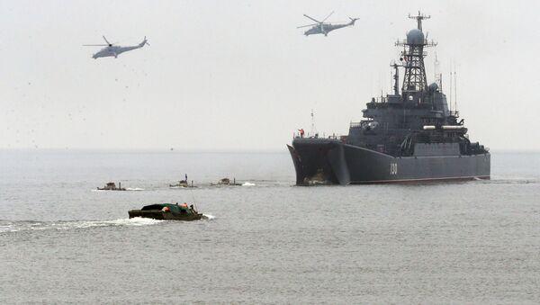 Taktická cvičení Baltské flotily - Sputnik Česká republika