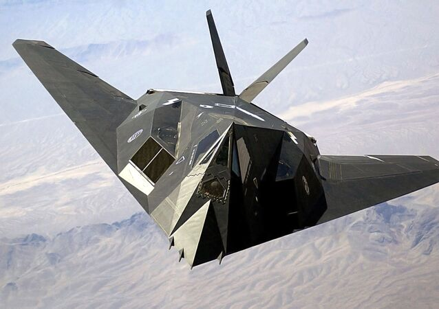 Letoun Lockheed F-117 Nighthawk.