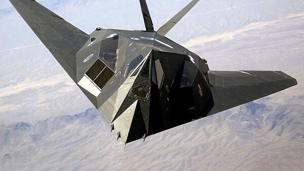 Americké letadlo F-117 - Sputnik Česká republika