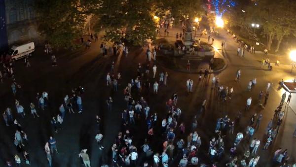 Mítink na Dumském náměstí v Oděse - Sputnik Česká republika