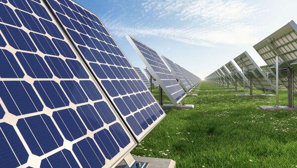 Solární panely. Ilustrační foto - Sputnik Česká republika