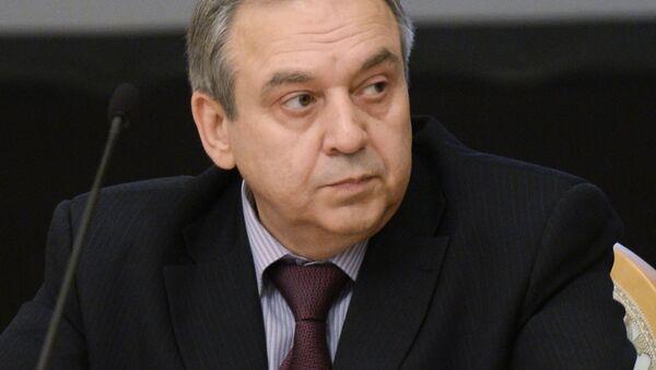Vicepremiér krymské vlády, stálý zástupce Krymu při prezidentovi RF Georgij Muradov - Sputnik Česká republika