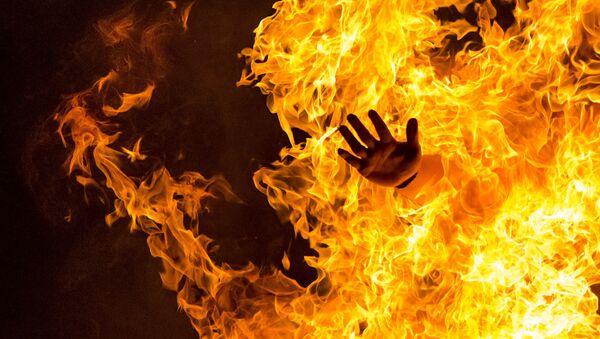 Oheň. Ilustrační foto - Sputnik Česká republika