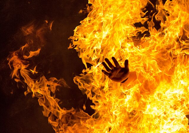 Oheň. Ilustrační foto
