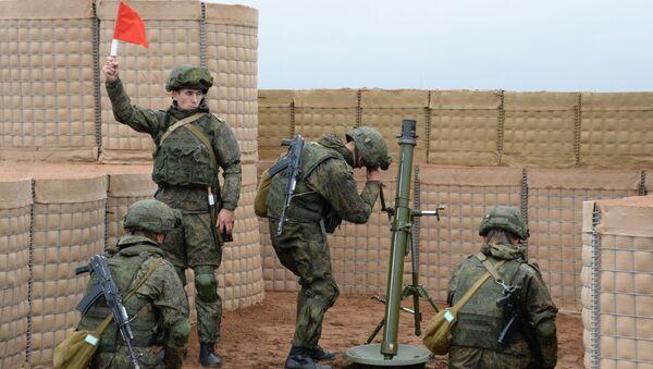 Cvičení ruských a běloruských vojáků - Sputnik Česká republika