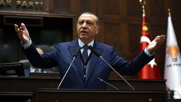 Turecký prezident Tayyip Erdogan - Sputnik Česká republika