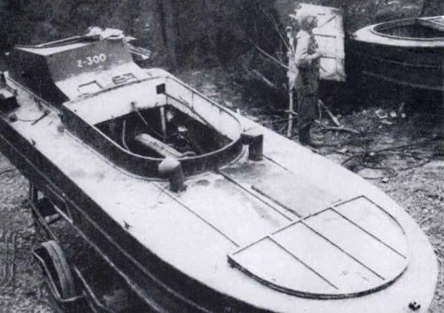 Člun kamikadze z doby 2. světové války
