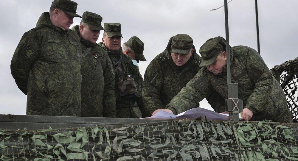 Velitel ruského výsadkového vojska, generálplukovník Andrej Serďukov