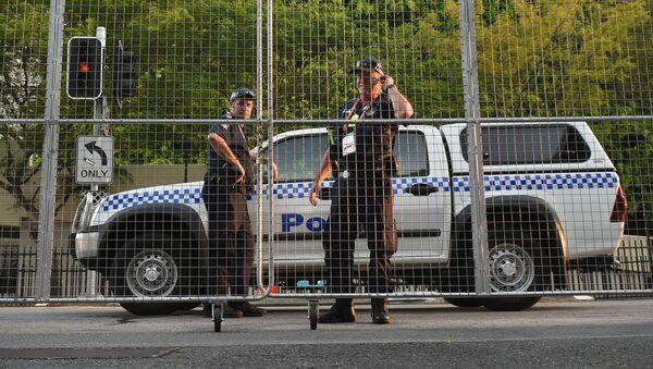 Policejní hlídka v Austrálii - Sputnik Česká republika