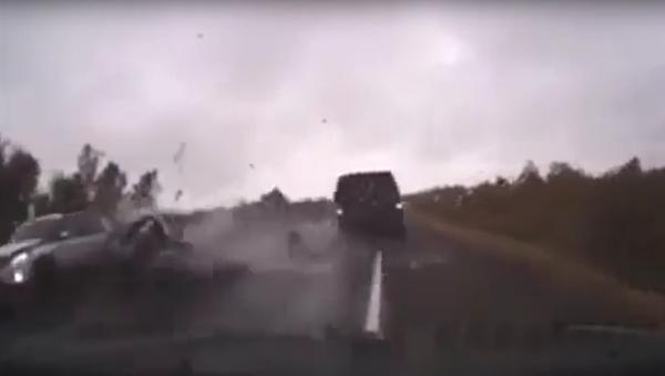 Bylo zveřejněno video nehody velitele ruských výsadkových vojsk - Sputnik Česká republika